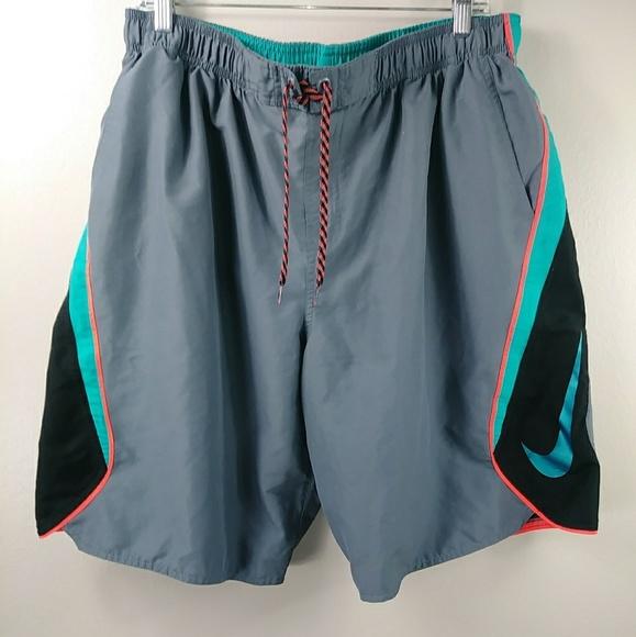nike shorts large swoosh